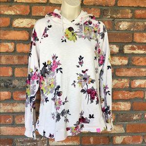 Joules Hoodie Floral Sweatshirt